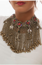 Collier chocker ethnique Waziristan